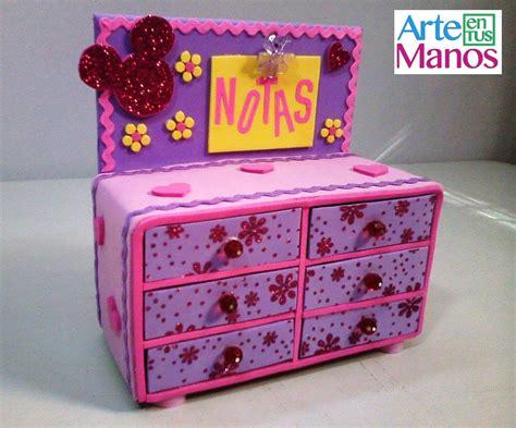 decoracion de cajas de carton reciclado organizador neceser joyero en foami y cajas de cart 243 n