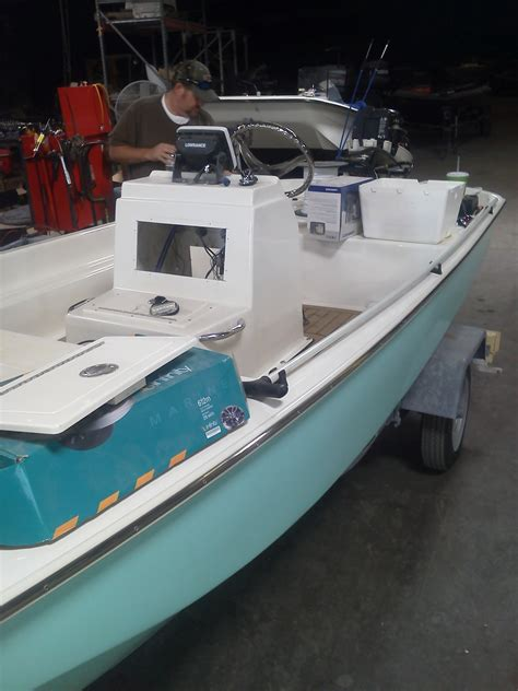 boston whaler build your boat custom boston whaler flats boat build page 10 the hull
