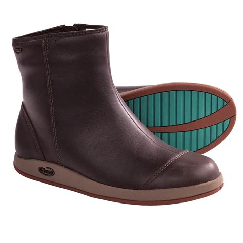 chaco darcy boots waterproof leather for save 80