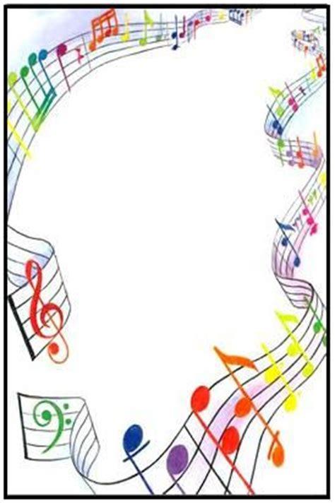 imagenes con motivos musicales cornice musica dibuixos m 250 sica pinterest notas