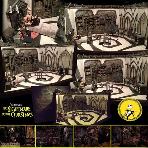 Original Bookcases The Nightmare Before Christmas Jack Skellington S House