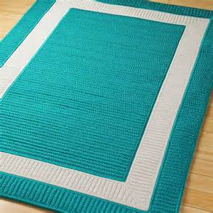 Turquoise Outdoor Rug Border Braided Indoor Outdoor Rug Available In 11 Colors Navy Blue