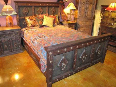 jerusalem bed   rustic gallery  san antonio texas rustic furniture rustic bedroom