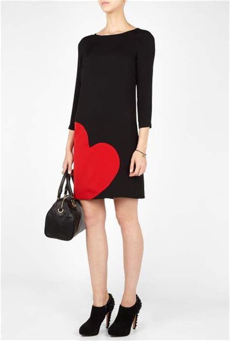 Moschino Tunik moschino cheap chic tunic dress in black lyst