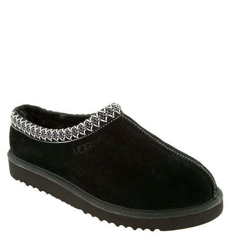ugg house shoes for men ugg tasman slipper in black for men lyst
