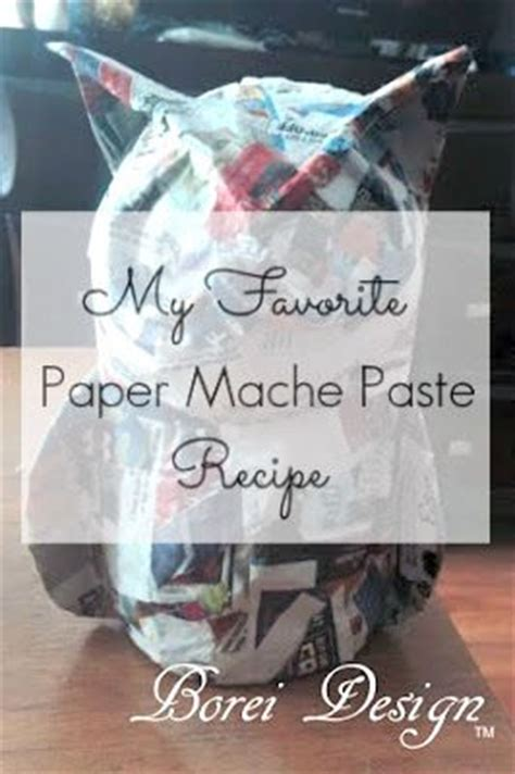 How To Make Paper Mache Stronger - 25 best ideas about paper mache on papier