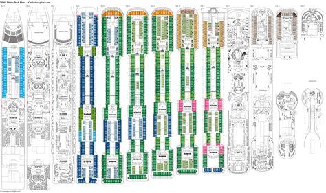 msc divina floor plan server on a boat networking