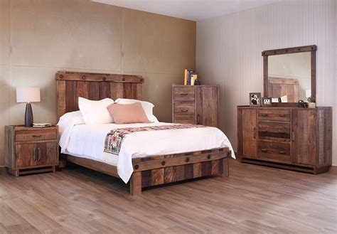 Warm Barn Wood Bedroom Furniture Bedroom Furniture Plank Bedroom Furniture