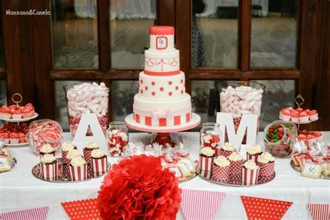 imagenes bodas en blanco y rojo manzana canela julio 2014