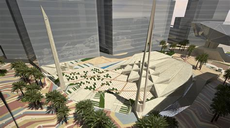 master design masjid king abdullah financial district grand mosque al bawani