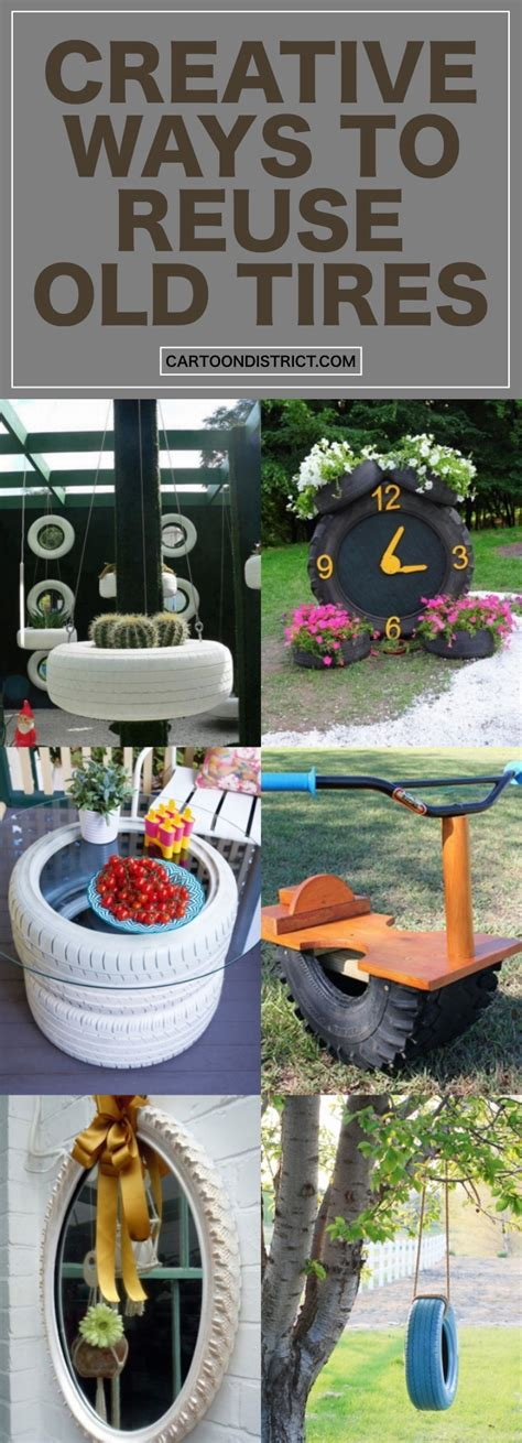 30 creative ways to reuse the tires