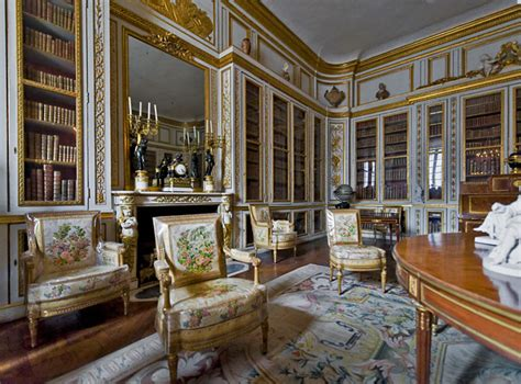 House Interior Design Versailles Royal This Is Versailles Louis Xvi S Library