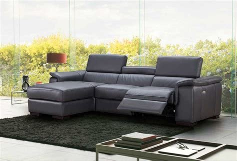 Sectional Sofa Nj by Premium Leather Sectional Sofa With Power Recliner Nj