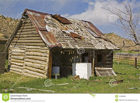 old log barn stock photos image 16113943 old log barn garage loaded with junk royalty free stock