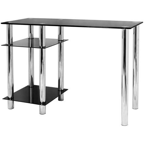 Desk Shelf Unit by Glass Computer Desk Base Unit Shelf Docklands Office Furniture
