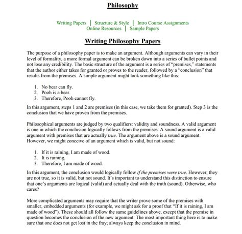 My Essay On Free Will Philosophy Forums How To Write A Philosophy Paper Nursing Educational Leadership Etc