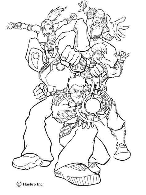 action force heroes coloring pages hellokids com