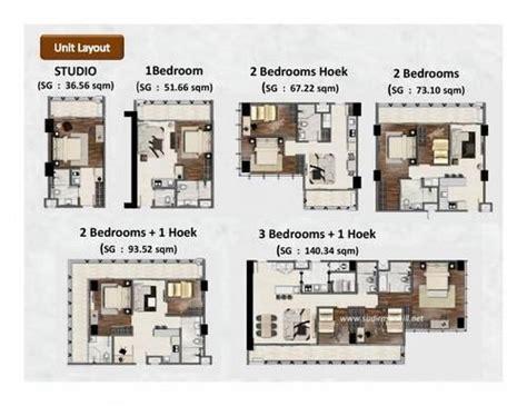 layout apartemen kalibata jual apartemen sudirman hill residences lokasi cbd