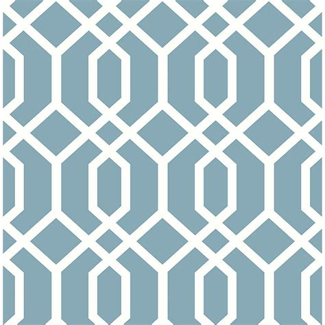 wallpaper blue trellis brewster trellis blue montauk wallpaper fd23272 the home