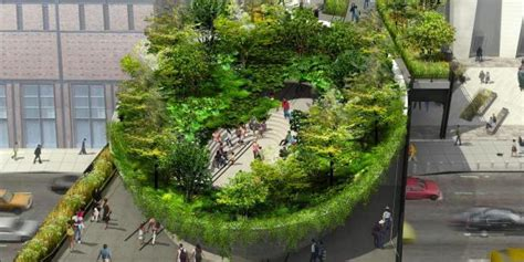 Section 3 Ny by High Line To Get Bowl Shaped Garden In Newest Section