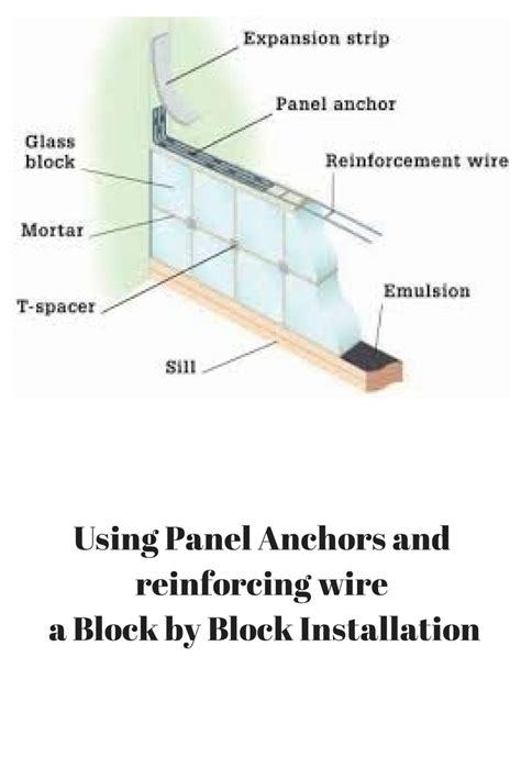 Wall Installation Is A Glass Block Wall Sturdy
