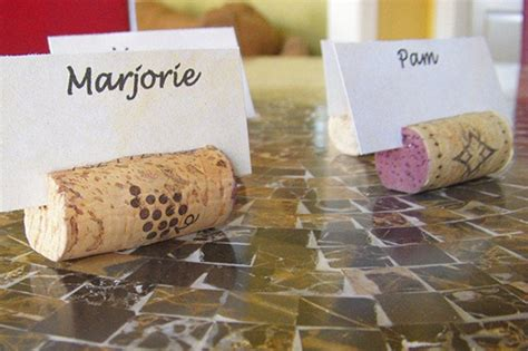 how to make wine cork place card holders wine cork craft ideas diy projects craft ideas how to s