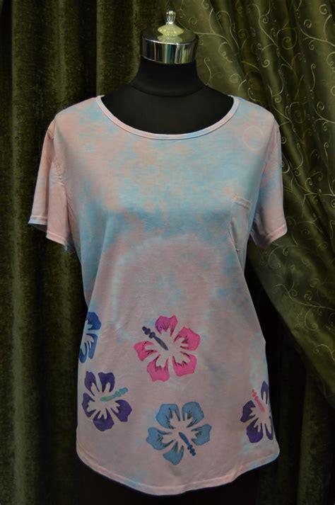 hibiscus pastel diy tie dye shirt favecraftscom