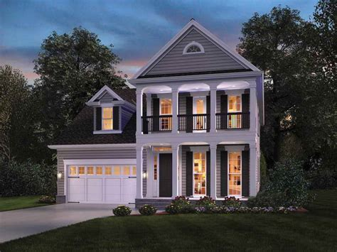colonial house plan colonial homes with balconies joy studio design gallery