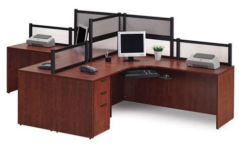 2 person office furniture ndi office furniture two person workcenter with divider