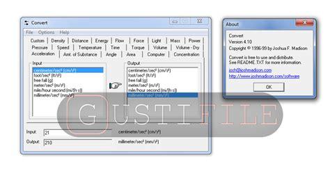 converter tekanan software converter ukuran satuan