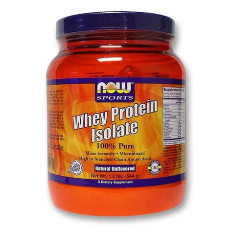 Now Whey Protein Isolate now foods whey protein isolate 1 lb evitamins