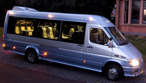 luxury minibus mini coach hire uk luxury and executive minibus and