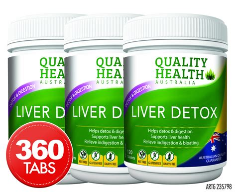 Best Liver Detox Tablets Australia by Catch Au 3 X Quality Health Liver Detox 120 Tablets