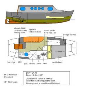 Catamaran Floor Plan Alfa Img Showing Gt Small House Boat Plans