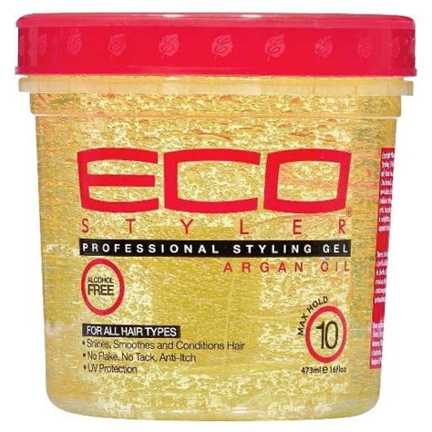 eco xmas styling eco styler styling gel with argan 16 oz target
