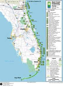 Map Of The East Coast Of Florida by Full Large Map Of Florida Bing Images