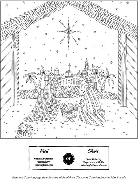 Coloring Pages Bethlehem Coloring Page Coloring Pages Bethlehem
