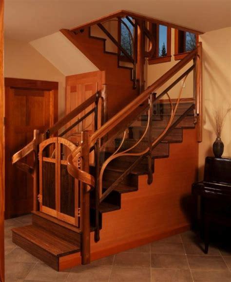 splendid wooden staircases    love