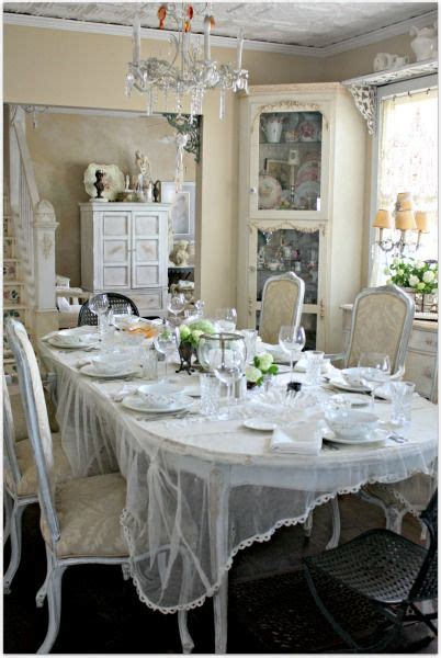 Dining Room Tablecloth Shabby Chic Shabby Chic Home 3 Beautiful