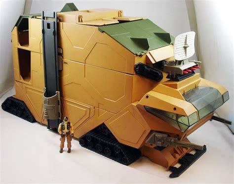 gi joe mobile command center g i joe 1987 mobile command center steam roller