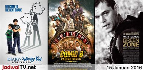 film indonesia 2016 januari jadwal film 15 januari 2016 jadwal tv