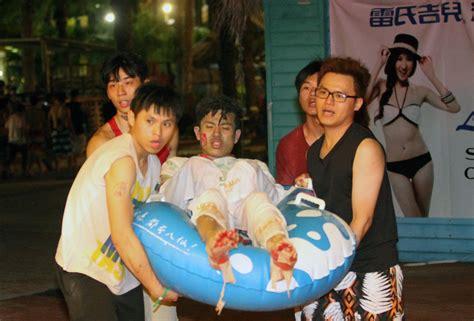 megan park corsi taiwan il color party finisce in dramma oltre 500