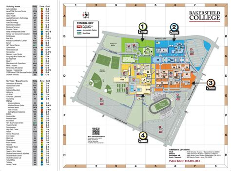 Southwest Home Floor Plans campus map bakersfield college