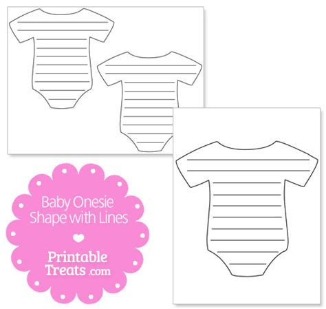 printable shapes for babies printable baby onesie shape with lines printable treats com