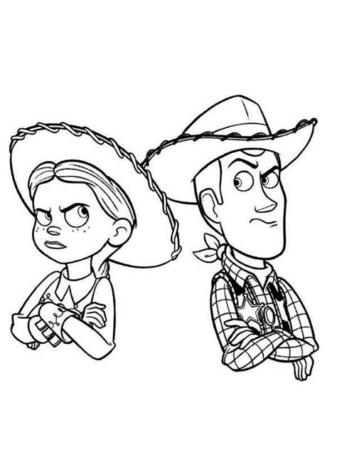 jessie toy story coloring pages coloring home