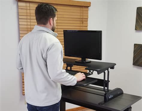 convertible standing desk top 9 problems with the varidesk convertible standing desk