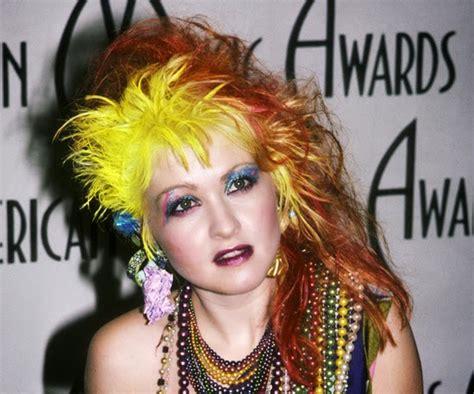 cyndi lauper tinklesmakeup eye makeup look 80 s icon series 1 cyndi