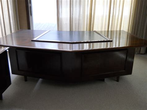 Monteverdi young executive desk and credenza for sale