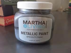 personality is preferred martha stewart silver metallic