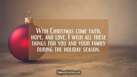 christmas  faith hope  love          family